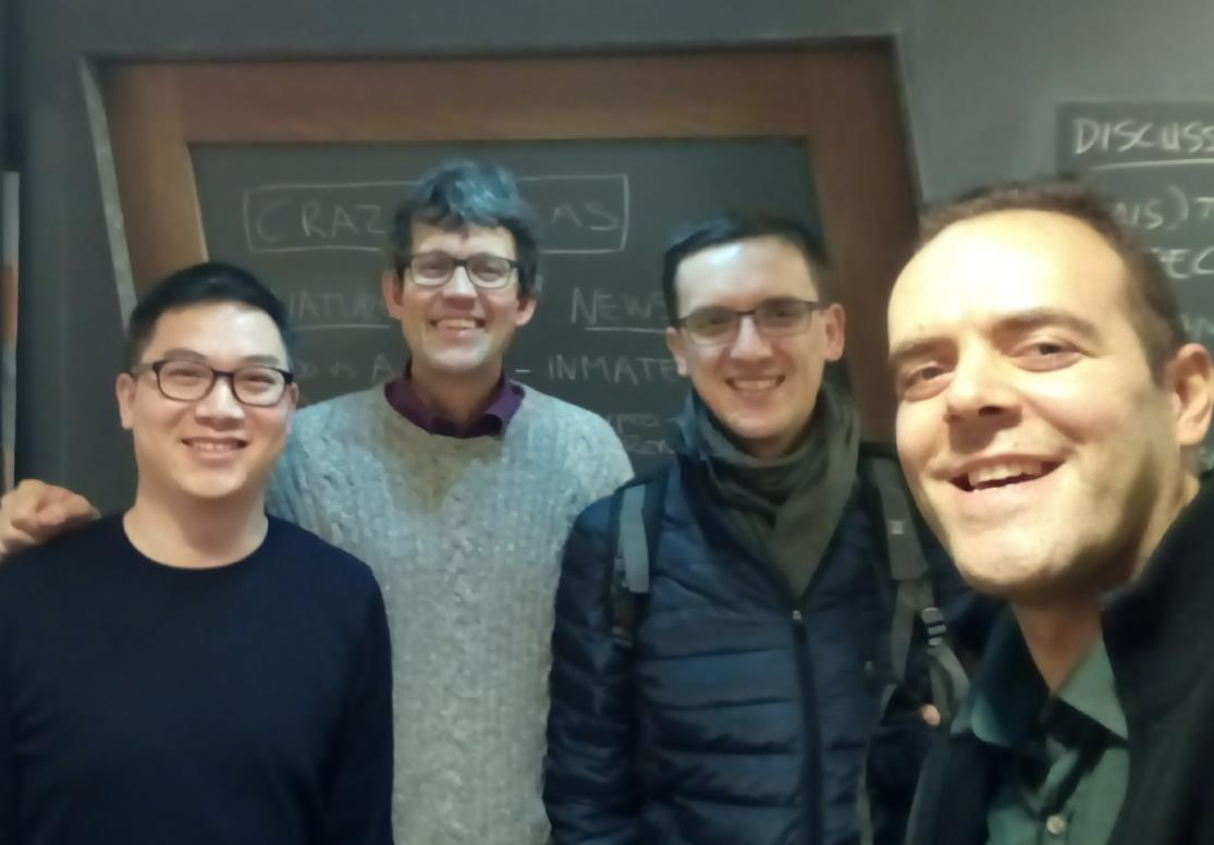 Working group of Wolfram Birmili, Dr. Lea den Broeder, Qijun Jiang and Damian Zieba and Berk Anbaroğlu (later supported by Dr. Jeroen Devilee and Frank Kresin).